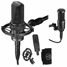 Audio Technica*AT4050+AT2020 Bundle*Condenser Microphone System FREE 2D SHIP NEW