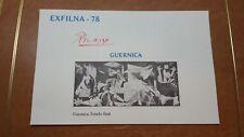 PRUEBAS EXFILNA78- (9 PRUEBAS DIFERENTES) GUERNICA- PICASSO. ESPANA MUY BONITAS