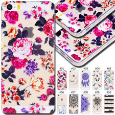 For Apple Silicone Pattern Clear Case Cover Cute TPU Back Gel Soft Rubber Skin