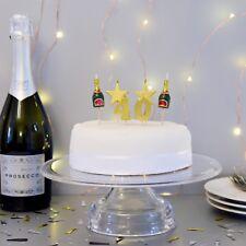 3D 40th Milestone Cake Candles, Birthday Cake, Cake Topper