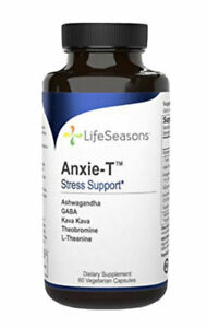Life Seasons - Anxie-T - Stress Support - 60 Capsules - Exp:5/2023  FRESH