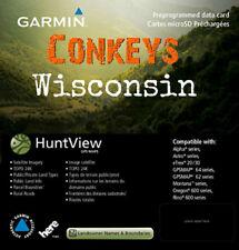 Garmin Wisconsin HuntView State Birdseye Maps / 24K TOPO Hunt view