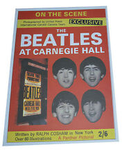 Beatles reproduction concert posters X 3 Size A3