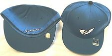 WASHINGTON WIZARDS FLAT BRIM FITTED PICK YOUR SIZE BLUE W LOGO NBA CAP BY REEBOK