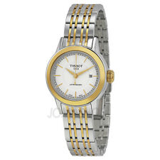 Tissot Carson Automatic White Dial Ladies Watch T0852072201100