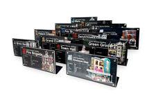 LEGO ALL MODULAR BUILDINGS - CUSTOM ACRYLIC DISPLAY STAND