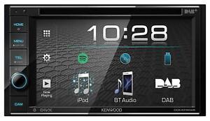 Kenwood DDX4019DAB Doppel-DIN CD/DVD/MP3-Autoradio Touchscreen Bluetooth USB DAB