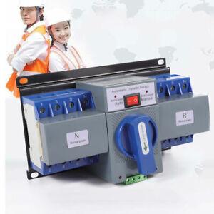 Umschalter Transferschalter Dual Netzteil automatisch Transfer Switch 63A 4P