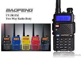Dual Band TwoWay Radio Baofeng UV 5R Walkie Talkie