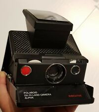 Rare Polaroid SX-70 alpha  EXECUTIVE - Carbon Fiber TESTED & WORKING