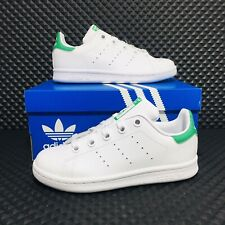 Adidas Stan Smith (Youth Size 2 Y) Athletic Tennis Casual Sneaker Boy Girl Shoe