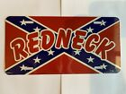 Made in the USA! Redneck license plate.