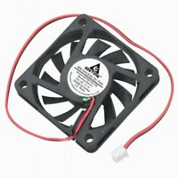 12V DC 60mm 2Pin 60x60x10mm CPU Cooling Computer PC Case Cooler 6010 Fan US