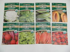 8 Assorted Ferry-Morse Organic Seeds PCKD for 2016 Sealed **Free Shipping** #4