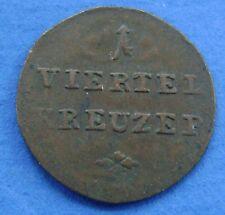 Deutsches Reich - Germany - Würzburg 1/4 kreuzer ein viertel kreuzer 1811 KM#476