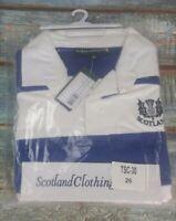 Scotland Rugby Shirt Scotland Clothing Size 26 Royal Blue Style TSC-30