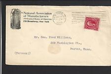 "NEW YORK,NEW YORK 1903,#301, ADVT ""NATIONAL ASSOC. OF MANUFACTURERS""."