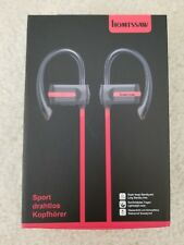 New listing Homtssaw Wireless Bluetooth Headphones In Ear Earbuds Ipx4 Waterproof Sports .