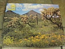 DESERT SONG ~  GOLDEN GUILD, 500 PC. PUZZLE, #4615-44, NEW, SEALED