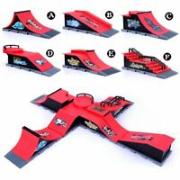 Mini Skate Park Ramp Parts Tech Deck Fingerboard Finger Board Ultimate Xmas Toy
