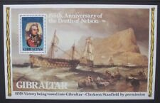GIBRALTAR 1980 Nelson Paintings. Souvenir Sheet. Mint Never Hinged. SGMS441.