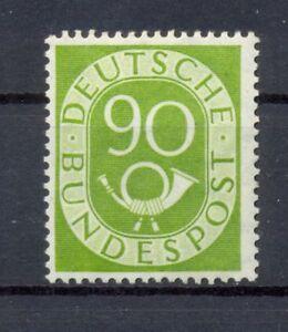 Bund 138 Posthorn 90 Pfg. postfrisch Kurzbefund HD Schlegel (lr86)