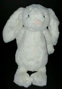 "Jellycat Bashful Cream Bunny Rabbit 12"" Plush Stuffed Animal Toy Off White Ivory"