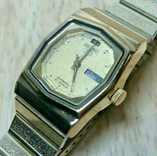 Seiko 4207-5010 Lady 21 Jewels Gold Self-Winding Automatic Watch Hours~Day Date