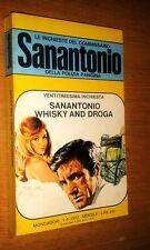 COMMISSARIO SANANTONIO # 23^ INCHIESTA - SANANTONIO WHISKY AND DROG - BERù -1972