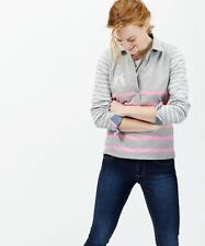 Joules Hip Length Cotton Collared Tops & Shirts for Women