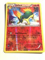 Quilava 19/162 Reverse Holo Pokemon Card