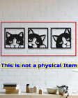 CAT Outdoor decor wall Metal CNC Vector Plasma Router Laser Cut DXF CDR Files