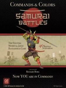 COMMANDS & COLORS: SAMURAI BATTLES ENGLISCH - Spiel - GMT - OVP