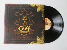 OZZY OSBOURNE Memoirs Of A Madman 2XLP GATEFOLD EUROPEAN PRESS BLACK SABBATH