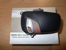 BMW  F22 2 Series F30 3 Series Sedan F32 4 Series  Key Case Brown 2012-2017 OEM