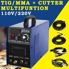 High Quality CT312 3in1 Plasma Cutter 110/220V TIG/MMA Welder DC Welding Machine