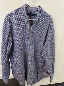 Ralph Lauren Polo Shirt Long Sleeve Size L