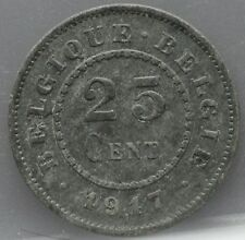 Belgie - Belgium 25 Centimes 1917 - KM# 82