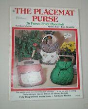 The Placement Purse by Eileen Schreuer Magazine #7313