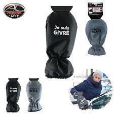 Gant Grattoir à glace en plastique pour voiture avec gant de protection !