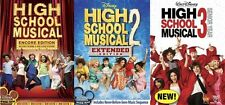 HIGH SCHOOL MUSICAL 1 2 3 New Sealed 3 DVD Disney