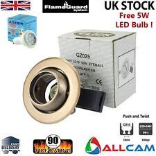 Clic GU10 empotrado Foco orientable Globo Ocular con / LED - A Cobre GZ025