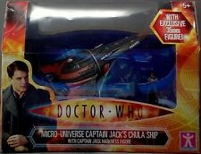 Doctor Who Micro-Universe Captain Jack's Chula Ship Captain Jack Harkness Figur