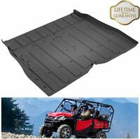 Rear Cargo Bed Liner Mat For 2016-2019 Honda Pioneer SXS 1000 M5 (5 Seater)