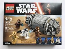 LEGO Star Wars 75136 Droid Escape Pod - New Sealed (Retired Set)