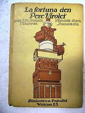 Biblioteca Patufet,La Fortuna den Pere Virolet,Junceda,1ª edicion 1915