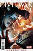 Civil War #1  Marvel Comic Book Steve McNiven Variant 2015 NM