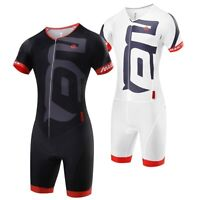 Triathlon Suit Breathable Cycling Pro Skinsuit Jumpsuit Maillot Cycling Set
