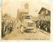 1924 California Photo Standard Truck Ad Sebbins-Robberts-Burquor Company M1