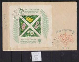! Hungary 1958.  Block  Stamp. YT#B34b. €100.00 !